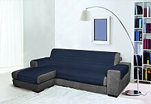 Trendy Sofabezug mit Penisel 240 cm dunkelblau