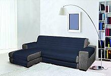 Trendy Sofabezug mit Penisel 290 cm dunkelblau