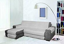 Trendy Sofabezug mit Penisel 290 cm grau
