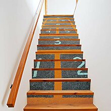 Treppe Aufkleber Wandtattoo Treppen Haus Haus