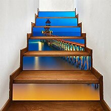 Treppen-Kunst-Aufkleber 3D Stairway Aufkleber