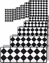 Treppen Teppich, Treppenmatte, Antirutschmatte,