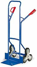 Treppenkarre mit Dreistern oder Dreistern und Luftreifen Traglast 300 Kg, Treppenkarre:Treppenkarre