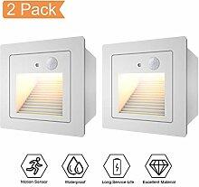 Treppenlicht mit Bewegungsmelder 2er LED