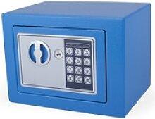 Tresor Blau 23x17x17cm mit elektronischem