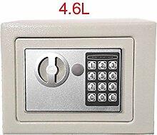 Tresor, Elektronischer Safe mit Zahlenschloss und