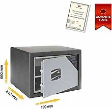 Tresor Mobile doppelwandigem Zertifizierung S2. EN14450Serie FS stark FS65490x 660x 410mm
