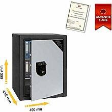 Tresor Mobile elektronische doppelwandigem Zertifizierung S2. EN14450Serie fsmh stark fs65mh 490x 660x 410mm
