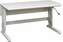 TRESTON C10141037 Arbeitstisch, Stahlgestell mit