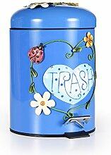 Tret-abfallsammler,Mülleimer mit deckel Kreativ