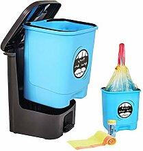 Treteimer mit Kunststoff-Inneneimer, Mülleimer