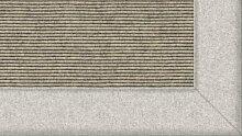 Tretford Teppiche mit Bordüre aus Filz 2 Meter Breit Größe 550 cm, Farbe B515 Quarz