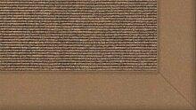 Tretford Teppiche mit Bordüre aus Filz 2 Meter Breit Größe 600 cm, Farbe B571 Sahara