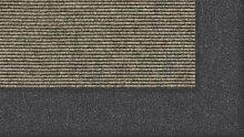 Tretford Teppiche mit Bordüre aus Filz 2 Meter Breit Größe 550 cm, Farbe B538 Aluminium