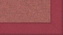 Tretford Teppiche mit Bordüre aus Filz 3 Meter Breit Größe 400cm, Farbe B588Rosa