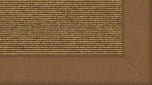 Tretford Teppiche mit Bordüre aus Filz 3 Meter Breit Größe 350 cm, Farbe B532 Sisal