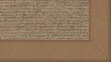 Tretford Teppiche mit Bordüre aus Filz 3 Meter Breit Größe 300 cm, Farbe B555Gobi