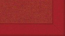 Tretford Teppiche mit Bordüre aus Filz 3 Meter Breit Größe 350cm, Farbe B582Grapefr