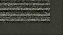 Tretford Teppiche mit Bordüre aus Filz 3 Meter Breit Größe 300 cm, Farbe B519Salbei