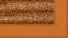 Tretford Teppiche mit Bordüre aus Filz 3 Meter Breit Größe 400cm, Farbe B564Bernstein