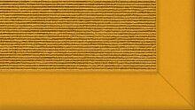 Tretford Teppiche mit Bordüre aus Filz 3 Meter Breit Größe 400 cm, Farbe B568 Mais