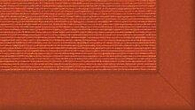Tretford Teppiche mit Bordüre aus Filz 3 Meter Breit Größe 400cm, Farbe B585Orange