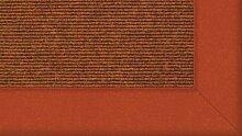 Tretford Teppiche mit Bordüre aus Filz 3 Meter Breit Größe 350cm, Farbe B559Terraco