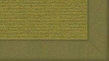 Tretford Teppiche mit Bordüre aus Filz 4 Meter Breit Größe 250 cm, Farbe B643 Tundra