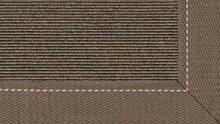 Tretford Teppiche mit Bordüre aus Leinen 2 Meter