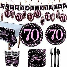 Trgowaul Partyzubehör zum 70. Geburtstag,