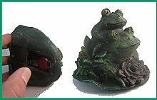 Tri Schlüsselversteck in Gartendeko Frosch Safe