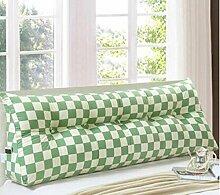 Triangle Big Back auf dem Bett Sofa Long Pillow kann abnehmbare Waschkissen ( Farbe : B , größe : 100*20*50cm )