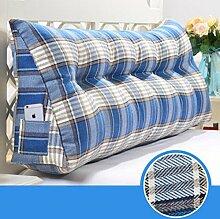 Triangle Kissen Nacht Soft Pack Doppel Paar Kissen Sofa Rückenlehne ( farbe : # 2 , größe : 135cm )