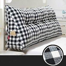 Triangle Kissen Nacht Soft Pack Doppel Paar Kissen Sofa Rückenlehne ( farbe : # 6 , größe : 120cm )