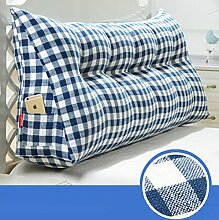 Triangle Kissen Nacht Soft Pack Doppel Paar Kissen Sofa Rückenlehne ( farbe : #8 , größe : 70cm )