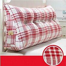 Triangle Kissen Nacht Soft Pack Doppel Paar Kissen Sofa Rückenlehne ( farbe : # 4 , größe : 100cm )