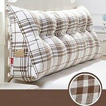 Triangle Kissen Nacht Soft Pack Doppel Paar Kissen Sofa Rückenlehne ( farbe : # 2 , größe : 60 )