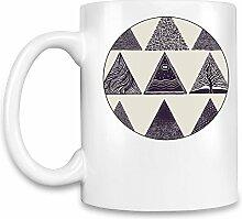 Triangles Kaffee Becher