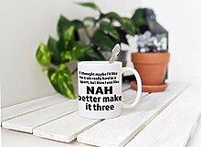 Triathlon-Kaffeetasse-Geschenk, Iron Man