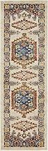 Tribal Arcadia Bereich Teppich, Polypropylen, cremefarben, 2 x 6