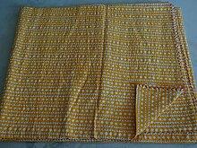 Tribal asiatischen Textiles Diamond Block Print