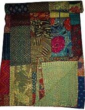 Tribal asiatischen Textilien indischen Patchwork