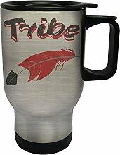 Tribe Edelstahl Thermischer Reisebecher 14oz 400ml