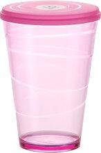 Trinkbecher mit Deckel myDRINK 400 ml, rosa