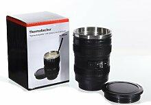 Trinkbecher Thermo | Kaffeebecher Kameraobjektiv