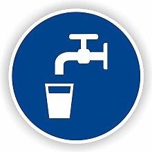 Trinkwasser / Gebotszeichen / GE-48 /