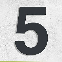 Trinoxx Design V2A Edelstahl Hausnummer