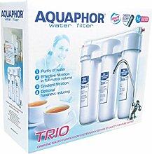 Trio AQUAPHOR Norma H Wasserfilter, Inklusive Wasserhahn, Reines Wasser