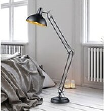 TRIO LED Stehlampe, Große Metall Steh-Leuchte