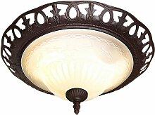 TRIO Leuchten Deckenleuchte Rustica, E27,